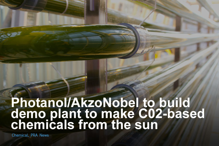 Photanol/AkzoNobel to build demo plant to make C02-based chemicals from the sun