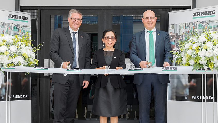 Arburg grows in Asia with new building in Thailand