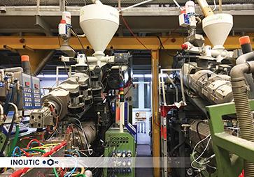 Inoutic公司拜恩工厂带全新背驮式共挤机的共挤出生产线(图片来自© Inoutic)