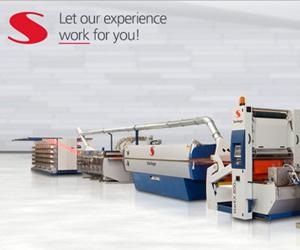 史太林格是世界领先的全套塑编袋、包装面料、技术纺织品设备生产商,至今已运营45年,在塑料回收机械方面拥有25年以上的开发和生产经验。