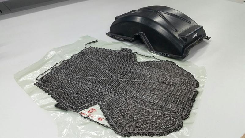 RP1车身部件及其TFP预成型件