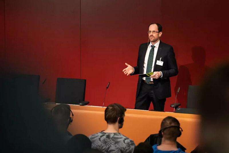 ENGEL轻量化复合材料技术中心负责人 Norbert Müller博士