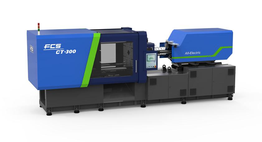 CT-300全电式注塑机