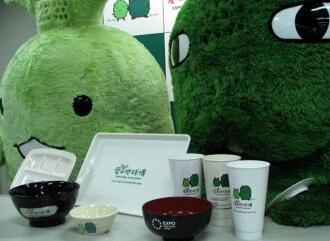 可生物降解的塑料杯和餐具-PRA Chinese