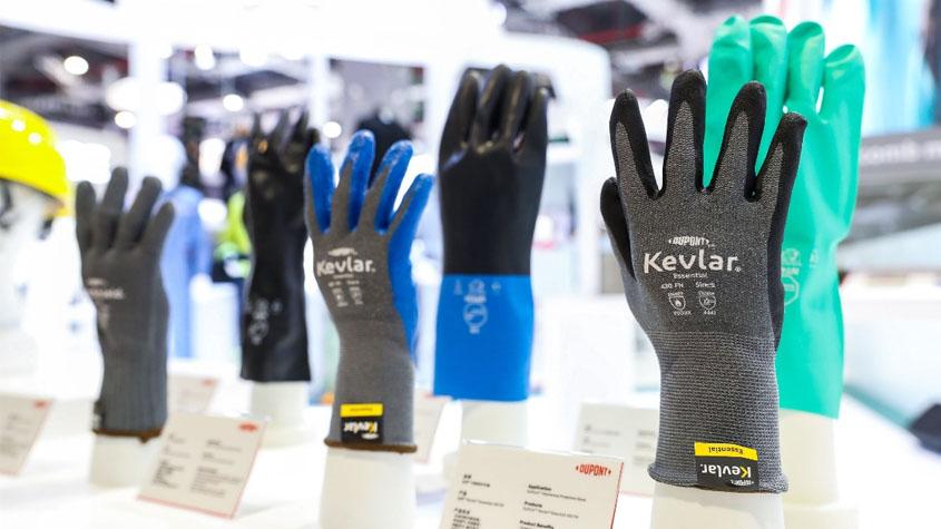涂鸦涂料、环保皮革,进博会上首发多种化工黑科技-杜邦的防高温Kevlar手套