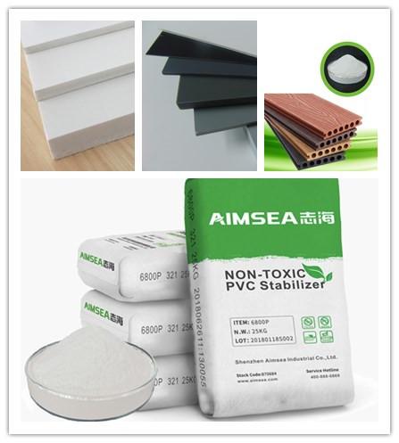 深圳志海的AIM-FOAM发泡功能助剂应用在PVC木塑发泡墙,能够使硬质PVC发泡材料配方得到简化,成本降低,性能品质提高,泡孔致密均匀,制品表面光洁